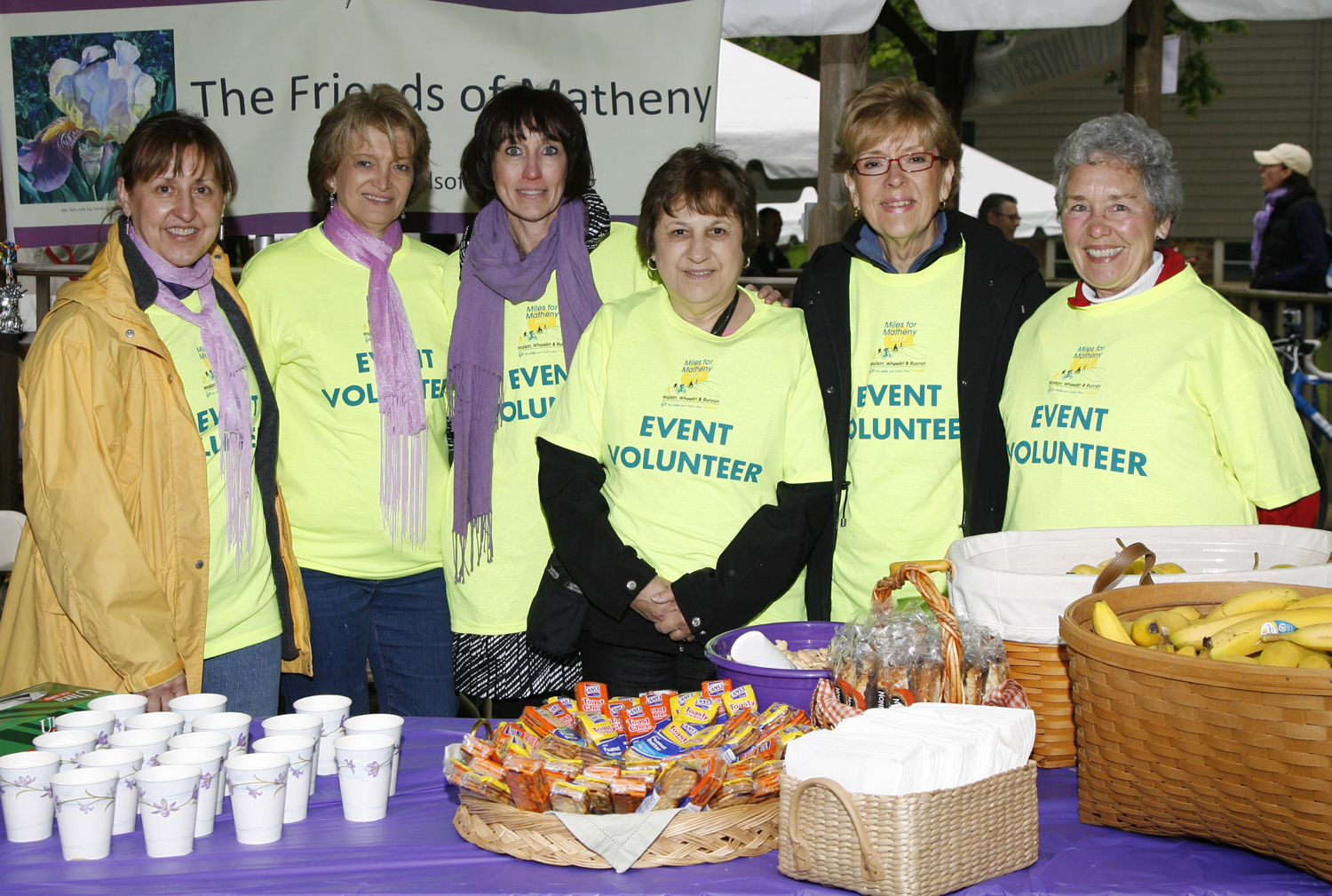 Miles for Matheny Volunteers